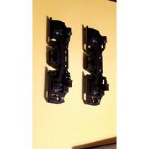 Drehgestellblenden für GP38-2, GP 30, GP 7/9, F3 AB in schwarz
