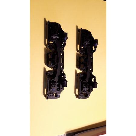 USA TRAINS Drehgestellblenden für GP38-2, GP 30, GP 7/9, F3 AB in schwarz
