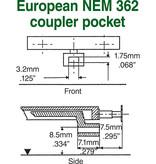 Kadee #18 Spur H0 Kupplungssätze (2 Paare)