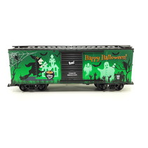 Glow In The Dark Happy Halloween Box Car
