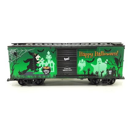 USA TRAINS Glow In The Dark Happy Halloween Box Car
