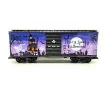 Spooky Halloween Box Car