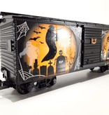 USA TRAINS Glow In The Dark Scary Halloween Box Car