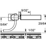 Kadee 3 Spur H0 Kupplungssätze fertig montiert (2 Paare)