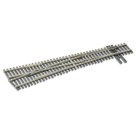 Peco H0 Code 83 Weiche links 9,5° mittlerer Radius (neu in OVP)