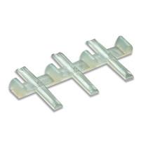 H0e 12x Isolier-Schienenverbinder für Code 80 und 55 Profile (H0e & N)