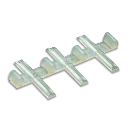 Peco H0e 12x Isolier-Schienenverbinder für Code 80 und 55 Profile (H0e & N)