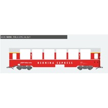 Panoramawagen BEX, Pullman IIm, RhB A 1291, rot, Ep V