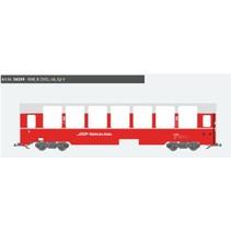 Panoramawagen BEX, Pullman IIm, RhB B 2502, rot, Ep V