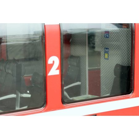 ESU Panoramawagen BEX, Pullman IIm, RhB B 2505, rot, Ep V