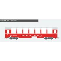 Panoramawagen BEX, Pullman IIm, RhB B 2505, rot, Ep V