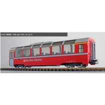Panoramawagen BEX, Pullman IIm, RhB Api 1305, rot, Ep VI
