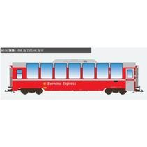 Panoramawagen BEX, Pullman IIm, RhB Bp 2503, rot, Ep VI