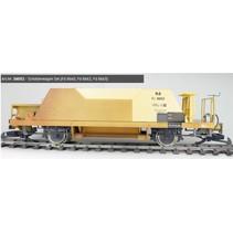 Schotterwagen Set (Fd 8660, Fd 8662, Fd 8663), RhB, ockergelb, Ep V