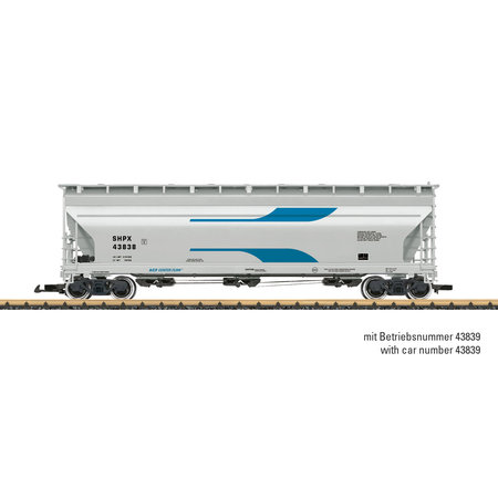 LGB SHPX Center Flow Hopper Car