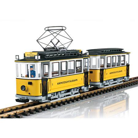 LGB Triebwagenzug Kirnitzschtalbahn