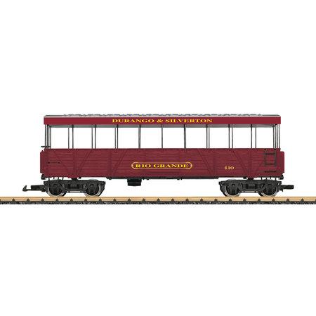 """LGB D&S RR Aussichtswagen """"Rio Grande"""""""