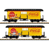 Coca Cola® Gepäckwagen