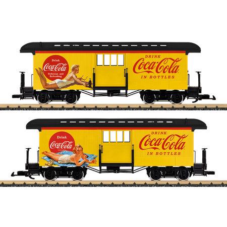 LGB Coca Cola® Gepäckwagen