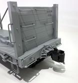 AMS G Wheel & Tie Car - D&RGW Gray