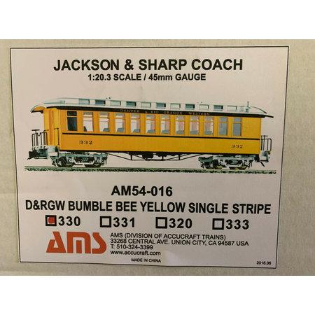 AMS G Jackson & Sharp Coach #330