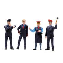 Figuren-Set Bahnpersonal Schweiz