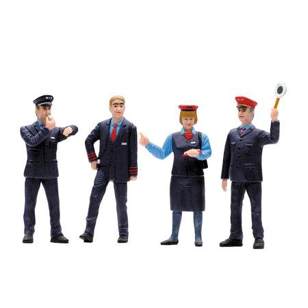 LGB Figuren-Set Bahnpersonal Schweiz