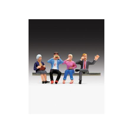 LGB Figuren-Set Speisewagenfiguren sitzend