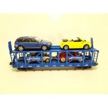 Conrail Doppelstock Autotransporter beladen