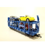 USA TRAINS Conrail Doppelstock Autotransporter beladen