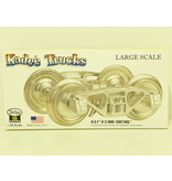 Kadee Spur G Kadee 974 A.S.F® 100-Ton Roller Bearing Trucks with 36 in. smooth back
