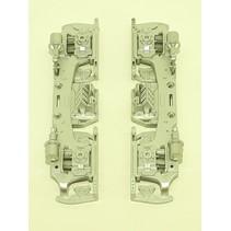 Drehgestellblenden für GP38-2, GP 30, GP 7/9, F3 AB in Silber