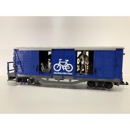 LGB 4-achsiger ÖBB-Fahrradwagen (gebraucht)