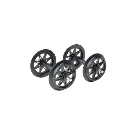 LGB Kunststoff Doppelspeichenradsatz, 2 Stück