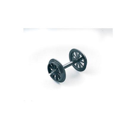 LGB Kunststoff-Speichenradsatz, 2 Stück