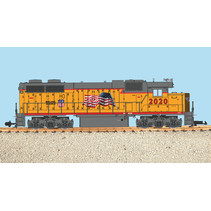Union Pacific with Flag (Neuheit 2021)