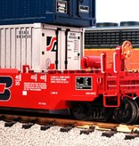USA TRAINS Intermodal Containerwagen 5er Einheit BN (ohne Container)