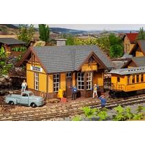 Amerikanischer Bahnhof Silverton
