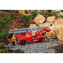 Feuerwehrfahrzeug Opel Blitz mit Drehleiter