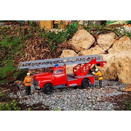 POLA Feuerwehrfahrzeug Opel Blitz mit Drehleiter