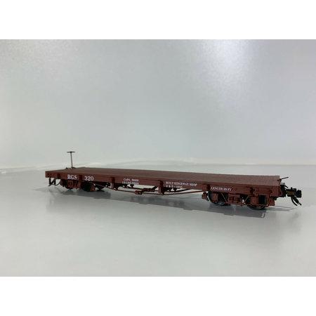 AMS 0n30 On30 Flatcar Rio Grande Southern (geniale Qualität) Wagennummer 320