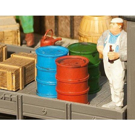 POLA 2 Ölfässer + Ölkanne