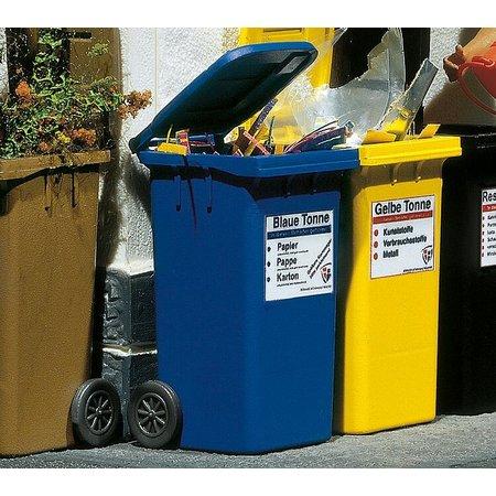 POLA 2 Mülltonnen, blau