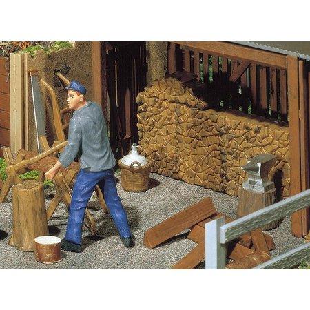 POLA Holzstapel, Werkzeug