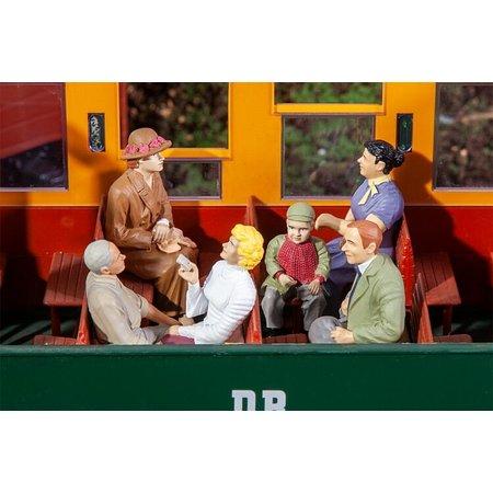 POLA 6 sitzende Waggon-Reisende