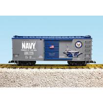 Steel Box Car US Navy Military