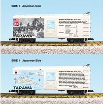 "Steel Box Car WWII ""Battle of Tarawa"""