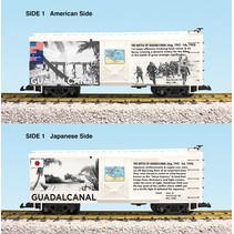 """Steel Box Car WWII """"Battle of Guadalcanal"""""""