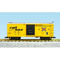 Steel Box Car Rail Box/SOU #14343