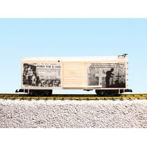 "Steel Box Car WW1 ""The War Is Over"""